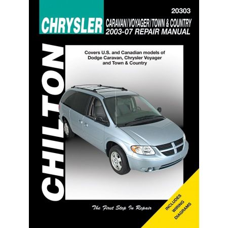 Chrysler Caravan Voyager Town Country Chilton Repair Manual for 03-07 excludes information specific to all-whe