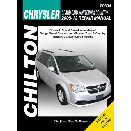 Chrysler Grand Caravan Town Country Chilton Repair Manual for 08-12 excludes information specific to all-wheel