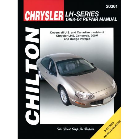 Chrysler LH-Series Chilton Repair Manual including LHS Concorde 300M and Dodge Intrepid for 98-04 Revue technique Haynes Anglais