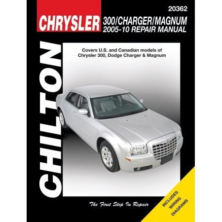 Chrysler 300 Charger Magnum Chilton Repair Manual for 05-10 Does not include information specific to SRT8 dies