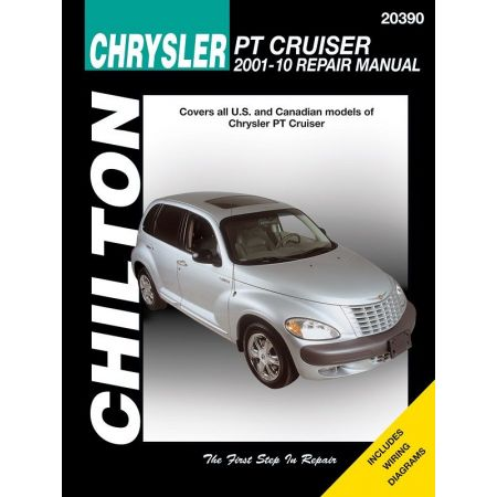 Chrysler PT Cruiser Chilton Repair Manual for 01-10 covering all models Revue technique Haynes Anglais