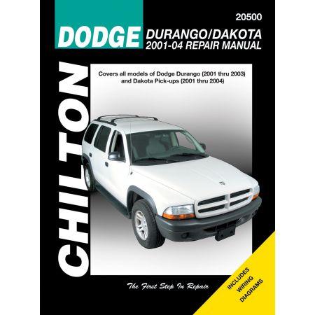 Durango Dakota 01-04 Revue Technique Haynes Chilton DODGE Anglais