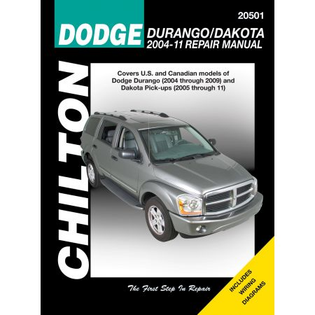 Durango Dakota 04-11 Revue Technique Haynes Chilton DODGE Anglais
