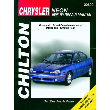 Neon 95-99 Revue Technique Haynes Chilton CHRYSLER DODGE Anglais