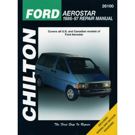 Aerostar 86-97 Revue Technique Haynes Chilton FORD Anglais