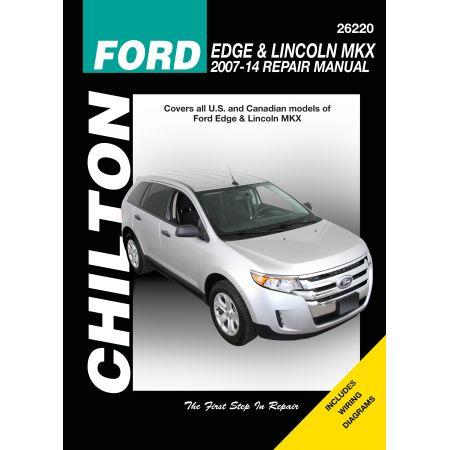 Edge MKX 07-13 Revue Technique Haynes Chilton FORD LINCOLN Anglais