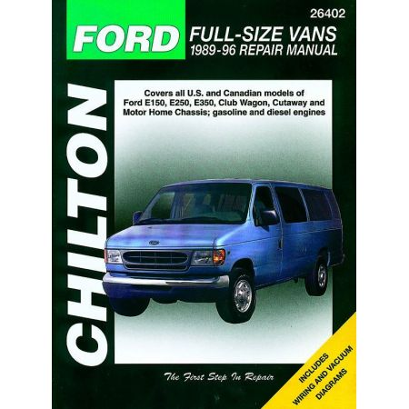 Full-Size E Vans 89-96 Revue Technique Haynes Chilton FORD Anglais
