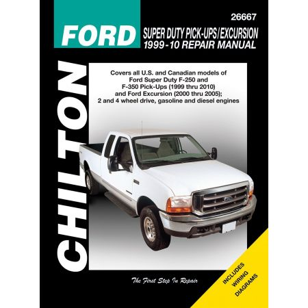 Super Duty Pick-Ups 99-10 Revue Technique Haynes Chilton FORD Anglais
