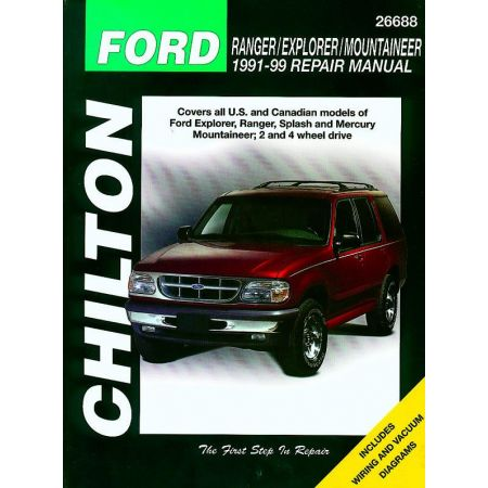 Ranger Explorer Mountaineer 91-99 Revue Technique Chilton FORD Anglais