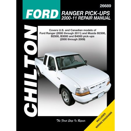 Ranger B2300 3000 4000 Revue Technique Chilton FORD Anglais