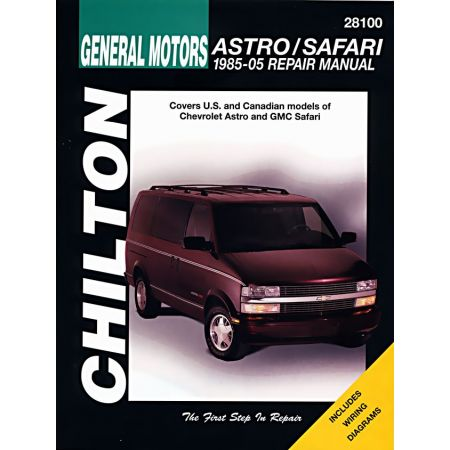 Astro Safari 85-05 Revue Technique Haynes Chilton CHEVROLET GM Anglais