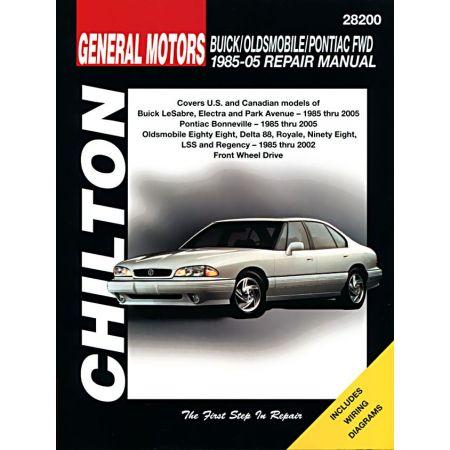 Buick Oldsmobile Pontiac 85-05 Revue Technique Chilton GM Anglais