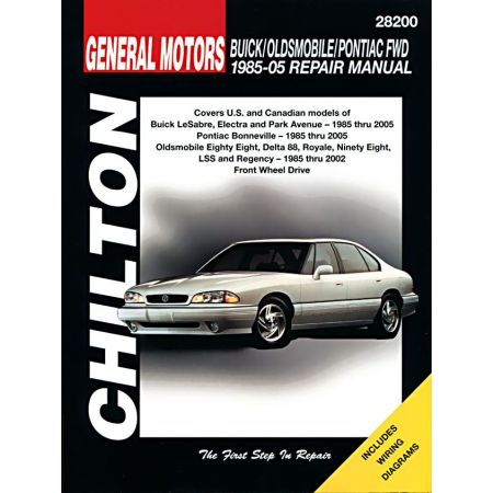 Buick Oldsmobile Pontiac 85-05 Revue Technique Haynes Chilton GM Anglais