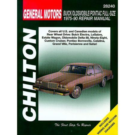 Full-Size 75-90 Revue Technique Haynes Chilton GM Anglais