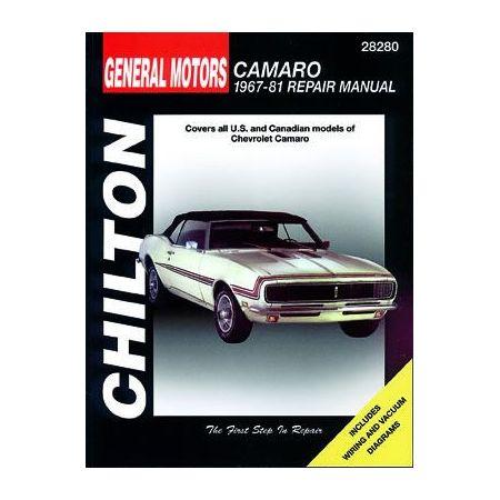 Camaro 67-81 Revue Technique Haynes Chilton CHEVROLET Anglais