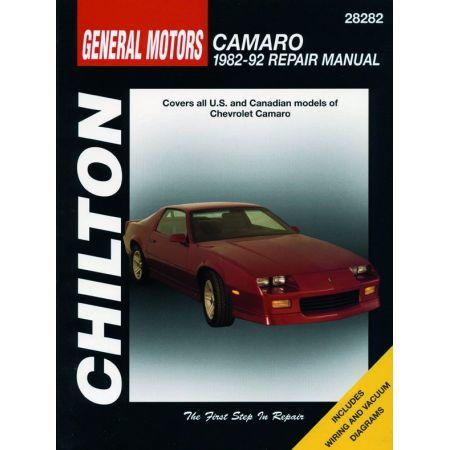 Camaro 82-92 Revue Technique Haynes Chilton CHEVROLET Anglais