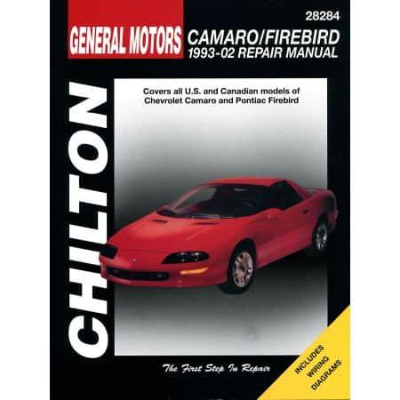 Camaro Firebird 93-02 Revue Technique Haynes Chilton CHEVROLET PONTIAC Anglais