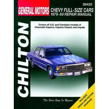 Caprice Impala 79-89 Revue Technique Haynes Chilton CHEVROLET Anglais