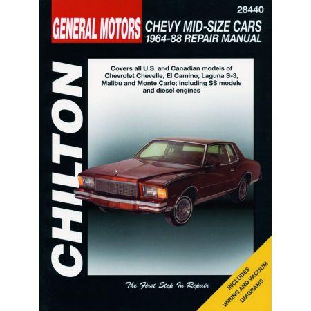 Chevelle El-Camino 64-88 Revue Technique Haynes Chilton CHEVROLET Anglais