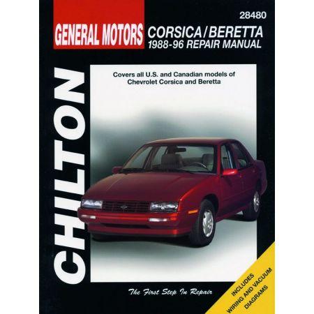 Corsica Beretta 88-96 Revue Technique Haynes Chilton CHEVROLET Anglais