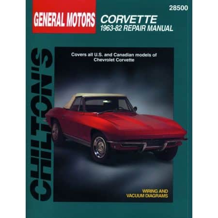Corvette 63-82 Revue Technique Haynes Chilton CHEVROLET Anglais