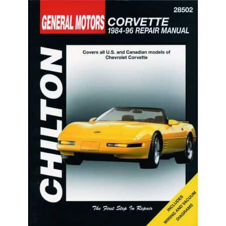 Corvette 84-96 Revue Technique Haynes Chilton CHEVROLET Anglais