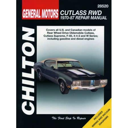 Cutlass 70-87 Revue Technique Haynes Chilton OLDSMOBILE Anglais