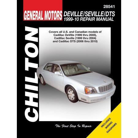 DeVille Seville DTS 99-10 Revue Technique Haynes Chilton CADILAC Anglais