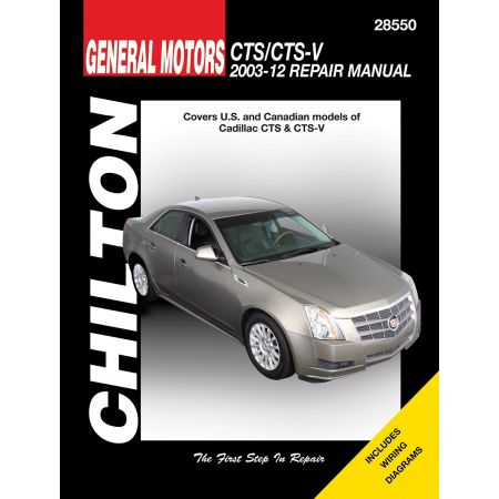 CTS CTS-V 03-12 Revue Technique Haynes Chilton CADILLAC Anglais