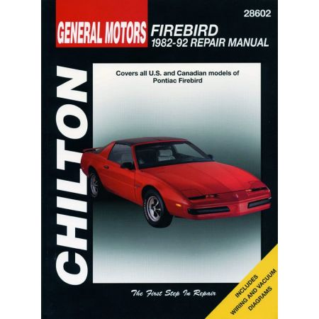 Firebird 82-92 Revue Technique Haynes Chilton PONTIAC Anglais