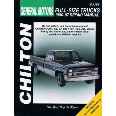 Picks Up 1 2 3 80-87 Revue Technique Haynes Chilton CHEVROLET GMC Anglais