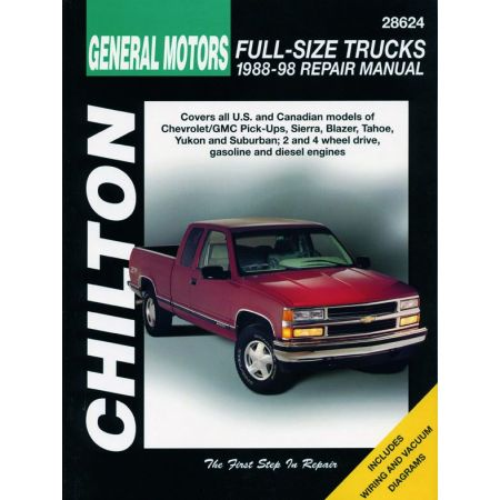 Full-Size Trucks 88-98 Revue Technique Haynes Chilton Anglais
