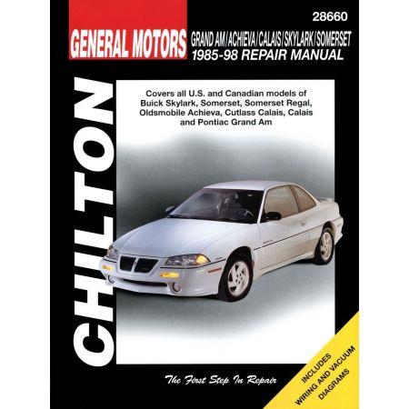 Skylark Somerset Cutlass 85-98 Revue Technique Chilton GM Anglais