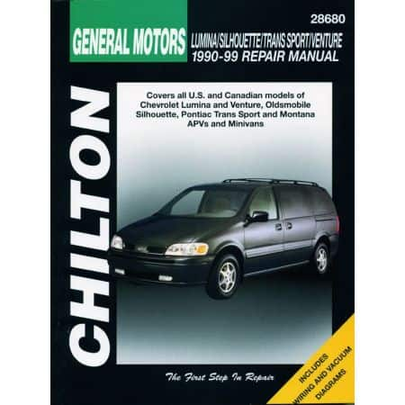 Lumina Venture Silhouette 90-99 Revue Technique Haynes Chilton GM Anglais