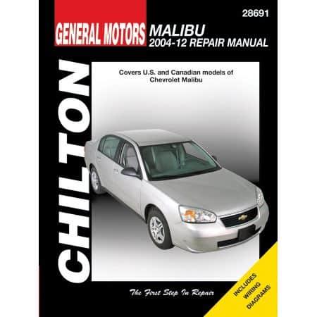 Malibu 04-10 Revue Technique Haynes Chilton CHEVROLET Anglais