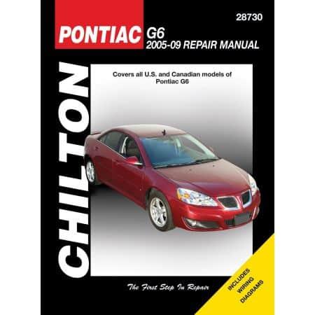 G6 05-09 Revue technique Haynes Chilton PONTIAC Anglais