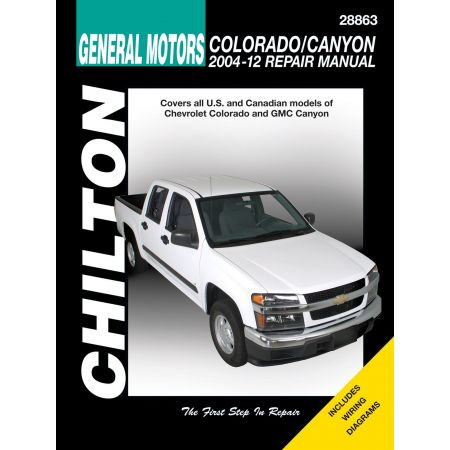 Colorado Canyon 04-12 Revue Technique Haynes Chilton CHEVROLET GMC Anglais