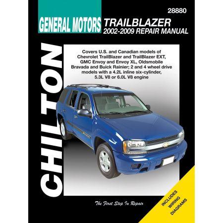 TrailBlazer Enjoy Bravada 02-09 Revue Technique Haynes Chilton GM Anglais