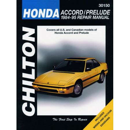 Accord Prelude 84-95 Revue technique Haynes Chilton HONDA Anglais