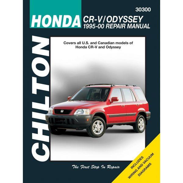 CR-V - Odyssey 95-00 Revue technique Haynes Chilton Anglais
