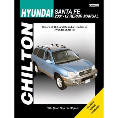 Santa Fe 01-06 Revue technique Haynes Chilton HYUNDAI Anglais