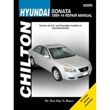 Sonata 99-14 Revue technique Haynes Chilton HYUNDAI Anglais