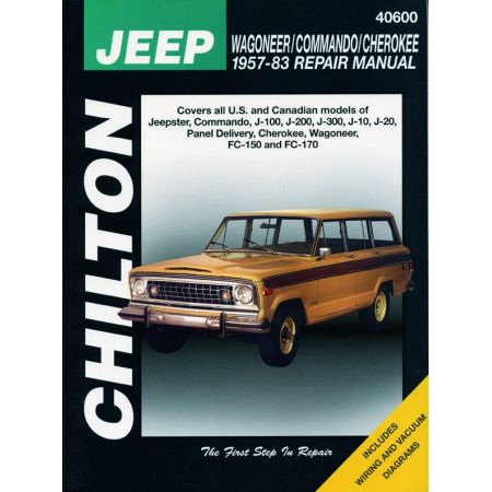 Commando 57-83 Revue Technique Haynes Chilton JEEP Anglais