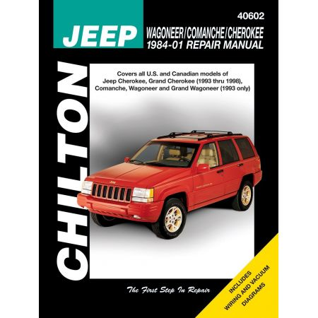 revues techniques des 4x4 jeep ma revue. Black Bedroom Furniture Sets. Home Design Ideas