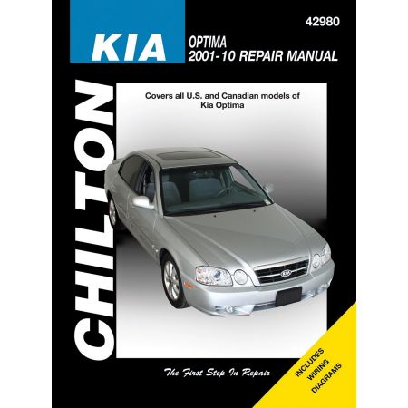 Optima 01-10 Revue technique Haynes Chilton KIA Anglais