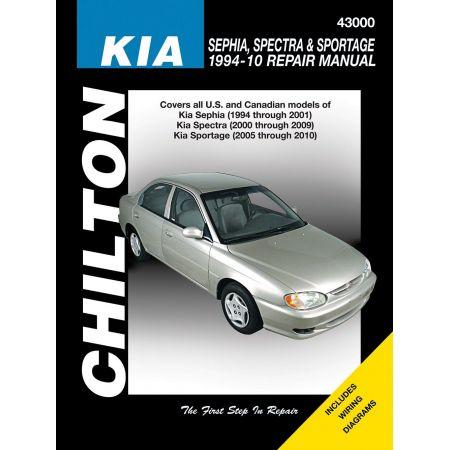 Sephia 94-01 Spectra 00-09 Sportage 05-10 Revue technique Haynes Chilton KIA Anglais