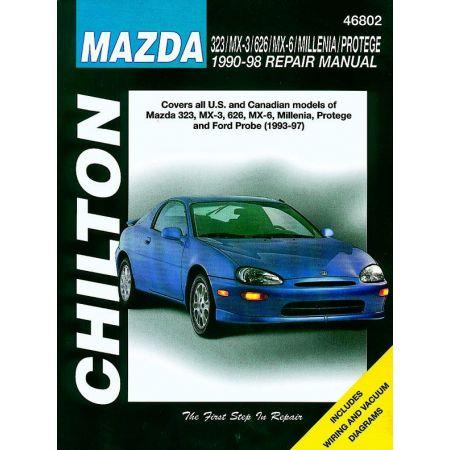 323 MX-3 626 MX-6 Millenia Protege Probe 90-98 Revue Technique Haynes Chilton MAZDA Anglais