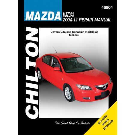 Mazda 3 04-11 Revue Technique Haynes Chilton MAZDA Anglais