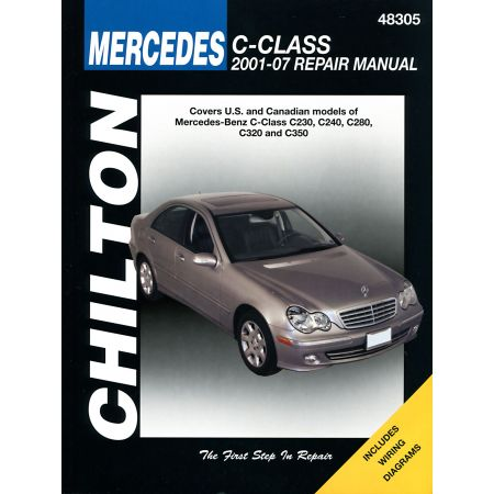 C-Class C230 C240 C280 C320 and C350 01-07 Revue Technique Haynes Chilton MERCEDES Anglais