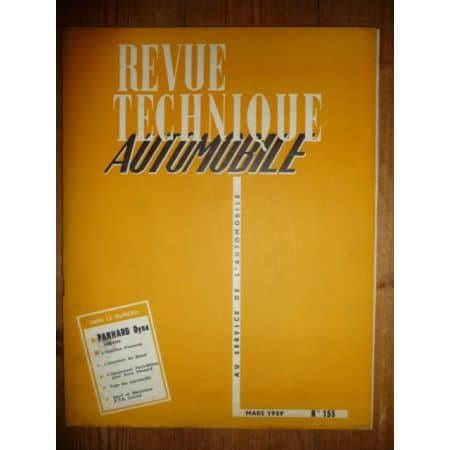 Dyna 58-59 Revue Technique Panhard